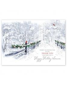 Wishful Thanking Holiday Cards