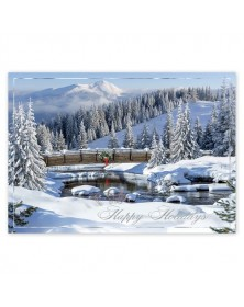 Majestic Winterland Holiday Cards
