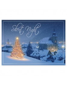Tranquil Glow Christmas Cards
