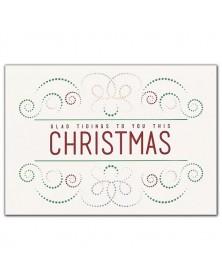 Light Bright Christmas Holiday Cards