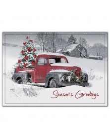 Big Red Holiday Cards