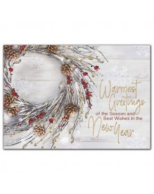 Natural Elements Holiday Cards
