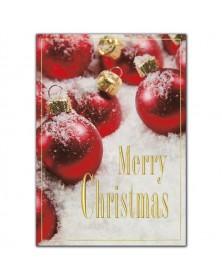Crimson All Over Christmas Cards
