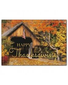 Patriotic Pass Thanksgiving Cards