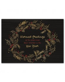 Gilded Greetings Holiday Cards