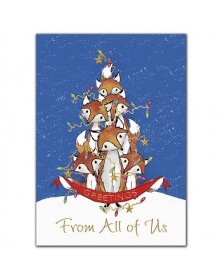 Foxy Friends Holiday Cards