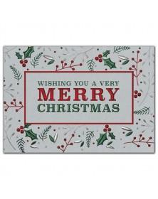 Holly Shine Christmas Cards