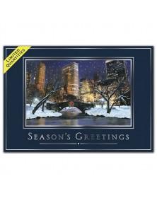 City Stillness Holiday Cards