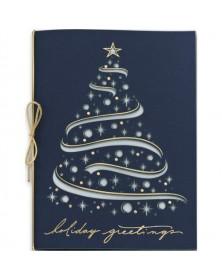Celestial Tree Laser Cut Christmas Cards