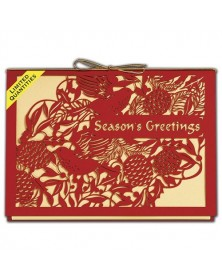 Storybook Bough Laser Cut Holiday Cards