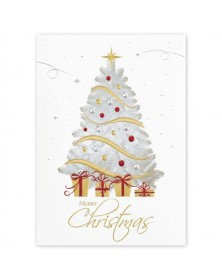 Golden Gifts Christmas Cards