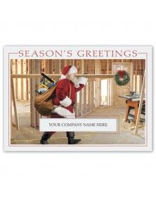 Santa's Workshop Contractor & Builder Holiday Cards