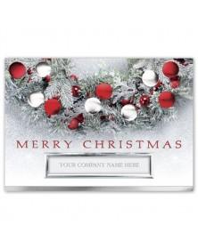 Flocked & Festive Christmas Cards