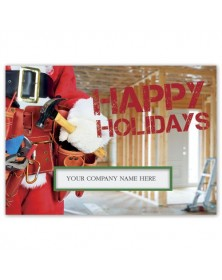 Construction Kringle Contractor & Builder Holiday Cards