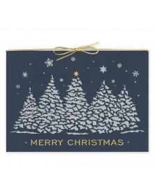 Twilight Shine Laser Cut Christmas Cards