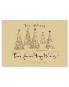 Warm Woodland Holiday Cards