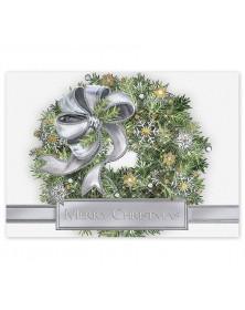 Silver Sparkle Christmas Cards