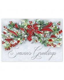 Red Dazzle Holiday Cards