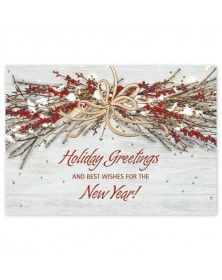 Country Bunting Holiday Cards