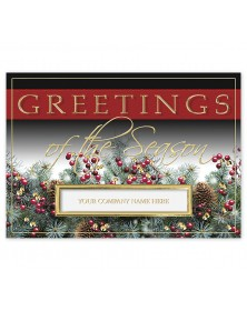 Script & Pines Holiday Cards