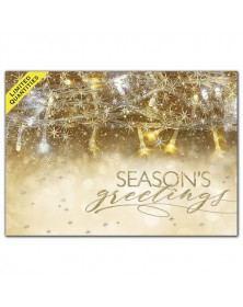 Tangled in Gold Holiday Cards