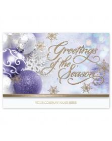 Golden Whisper Holiday Cards