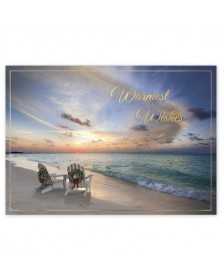 Warm Escape Holiday Cards