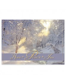 Blissful Mornings Holiday Cards