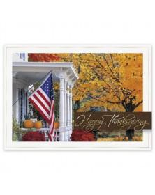 Golden Days Thanksgiving Cards