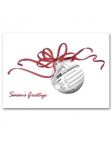 Seasonal Returns Accountant Holiday Cards
