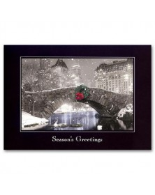 Cityscape Holiday Cards