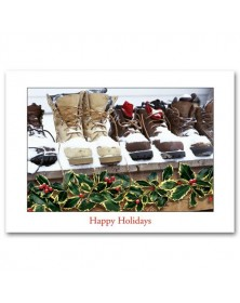 Snow Boots Contractor & Builder Holiday Cards