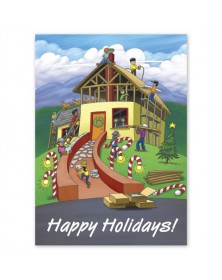 Building Holiday Joy Contractor & Builder Holiday Cards