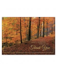 Woodland Gratitude Thanksgiving Cards