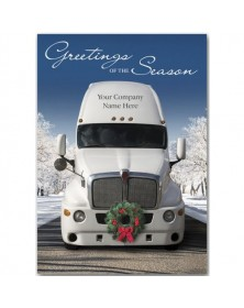 Deck the Haul Truck Driver Holiday Cards