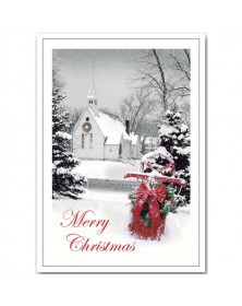 Peaceful Eve Christmas Cards