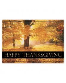 Maple Splendor Thanksgiving Cards