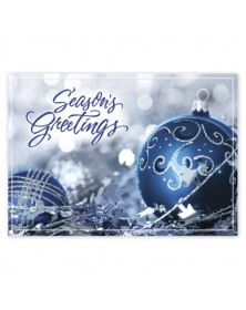 Nestled In Silver Holiday Cards