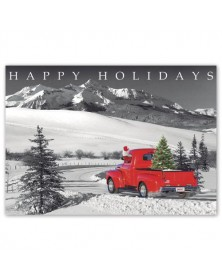 Classic Claus Holiday Cards