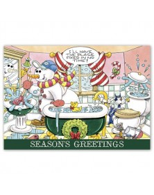 Happy Plumbing!  Holiday Cards