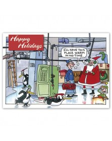 Warm in No Time Holiday Cards