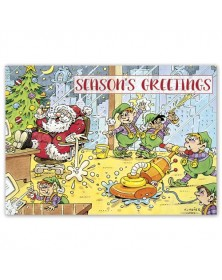Clean Up Crew Holiday Cards
