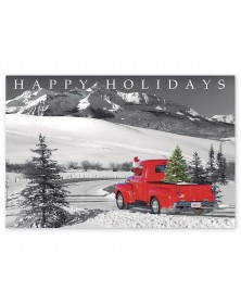 Classic Claus Holiday Postcards