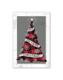 Mad For Plaid Christmas Postcards