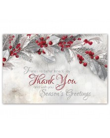 Sterling Thanks Holiday Postcards