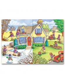 Seasonal Services Landscaping Holiday Cards