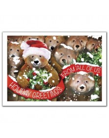 Beary Bunch Holiday Cards