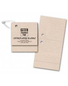 Dual Purpose Stylish Perforated Gift Tags