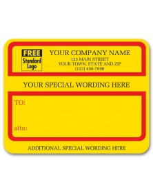 Specail Custom Wording Jumbo Labels