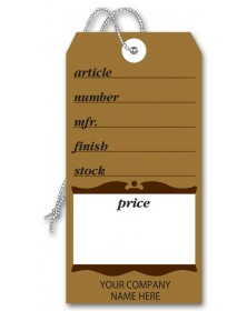 Durable Furniture Brown Tags
